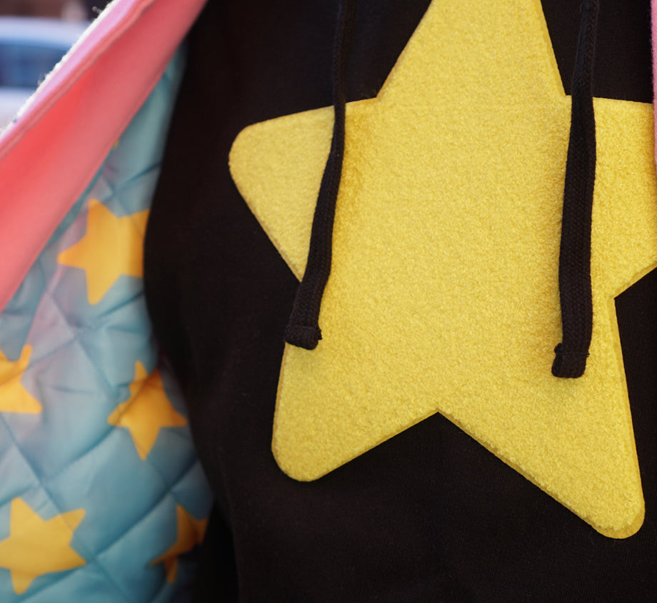 Steven Universe Star Patch Hoodie