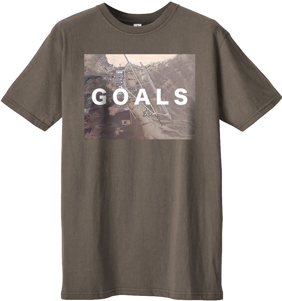 Area 51 Goals T-shirt (Stone)