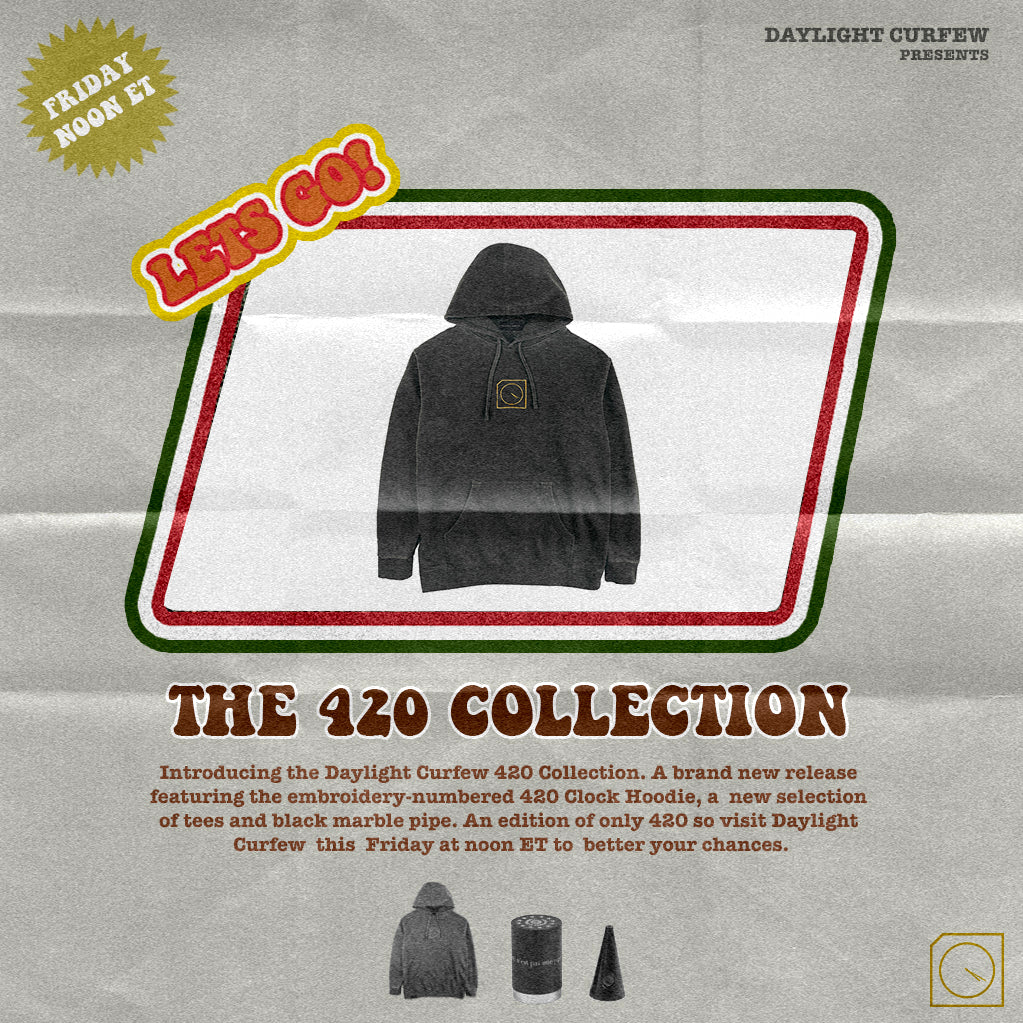 420 Clock Hoodie (Edition of 420)