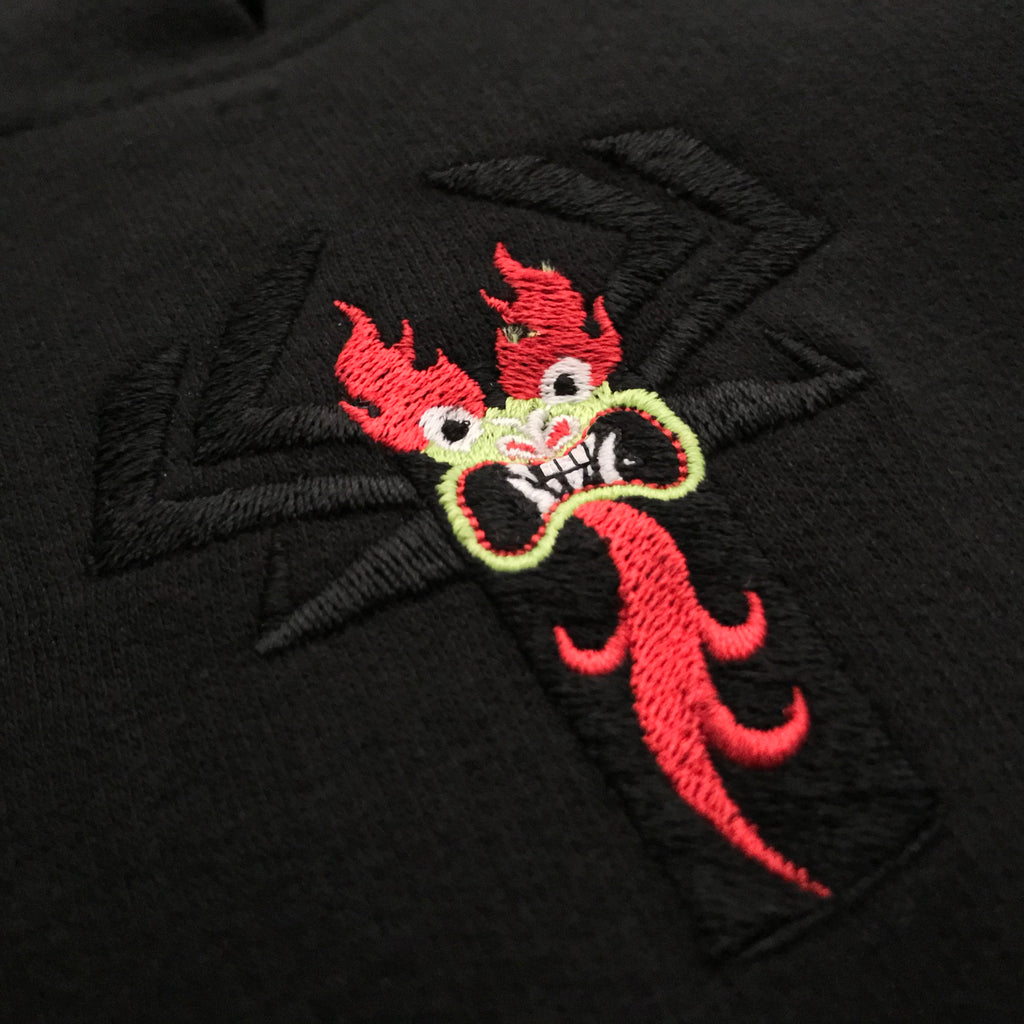 Samurai vs Shogun: Aku Hoodie (Embroidery Numbered)