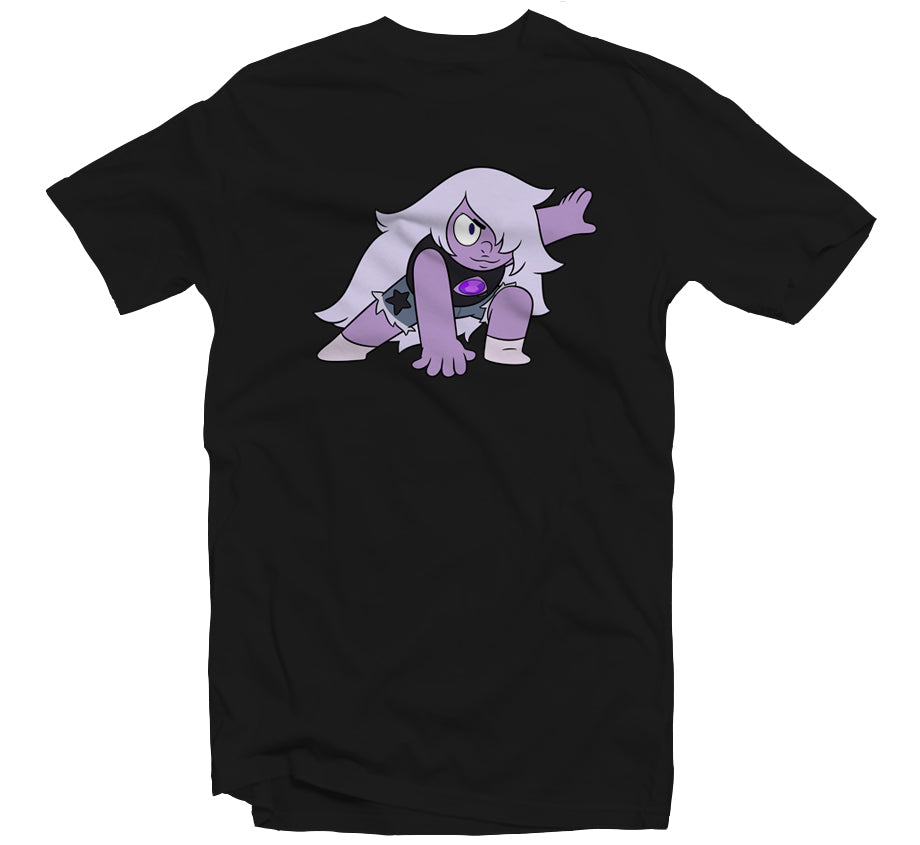 Amethyst T-shirt (Black)