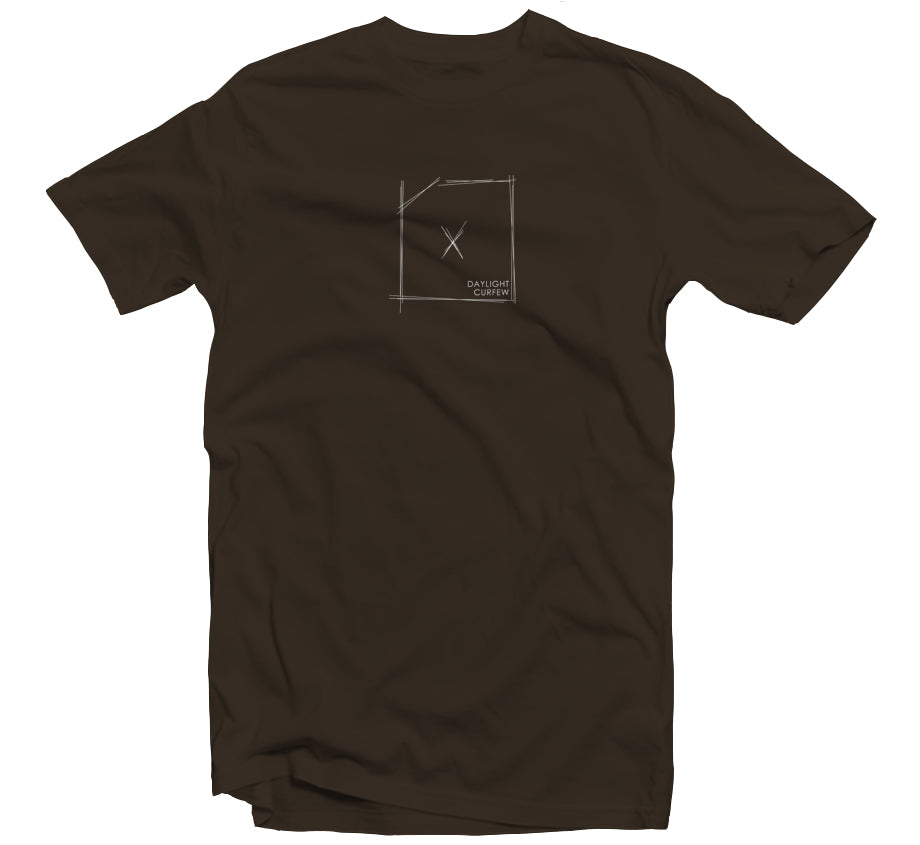 Scratch T-shirt (Brown)