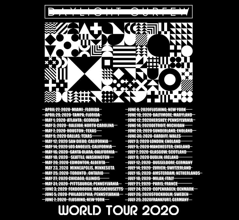 Summer '20: Bauhaus World Tour T-Shirt