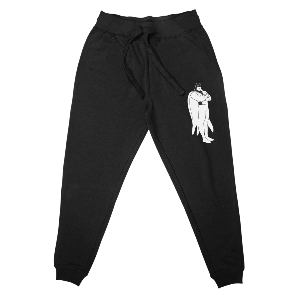 Daylight Curfew x Space Ghost: SG Joggers (Black)