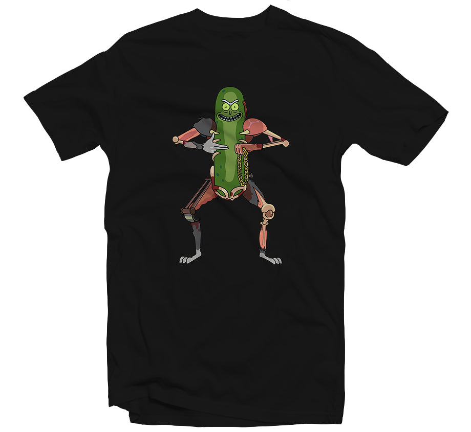 Pickle Rick T-shirt (Black)