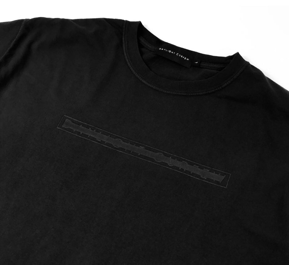 Redacted - Black On Black T-shirt