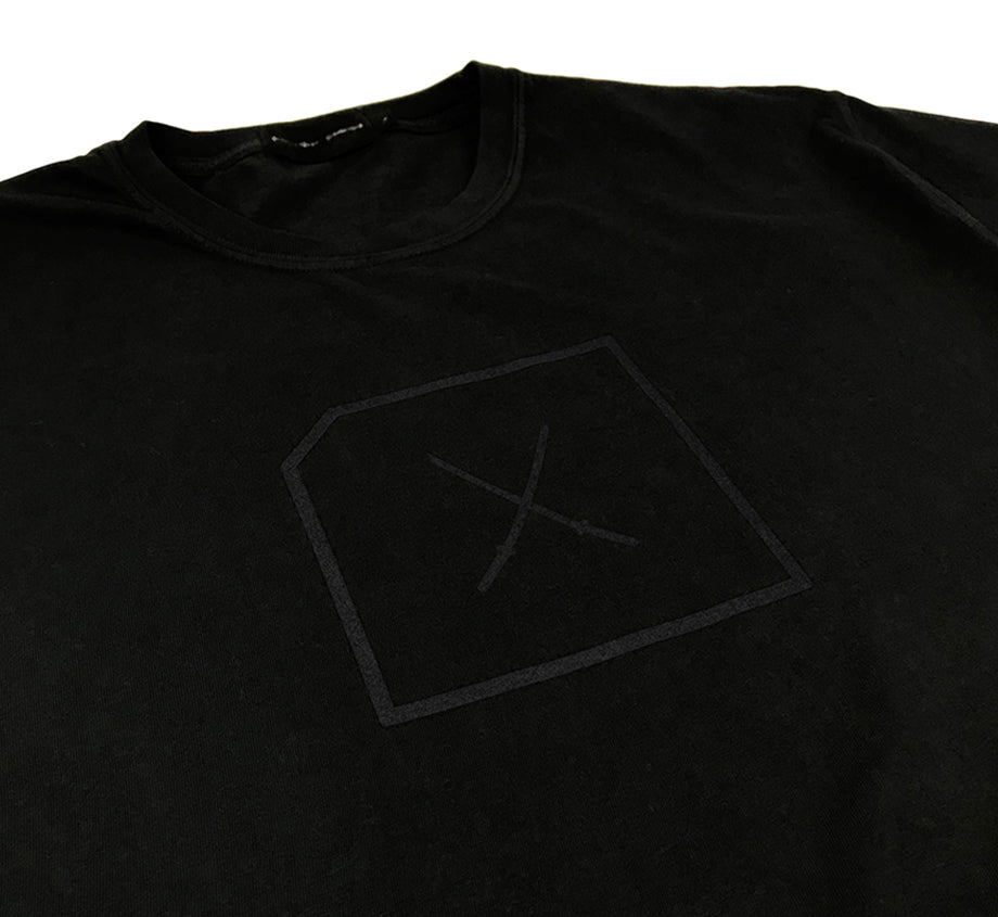 Katana - Black on Black T-shirt
