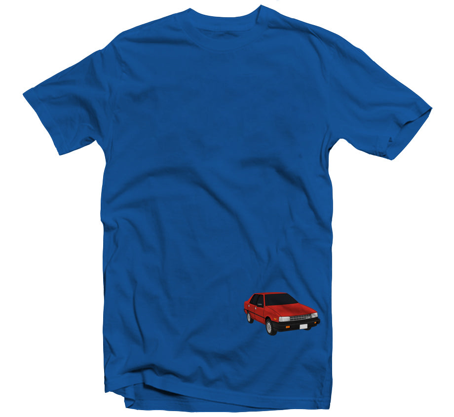 Watch Your Back T-shirt (Blue)