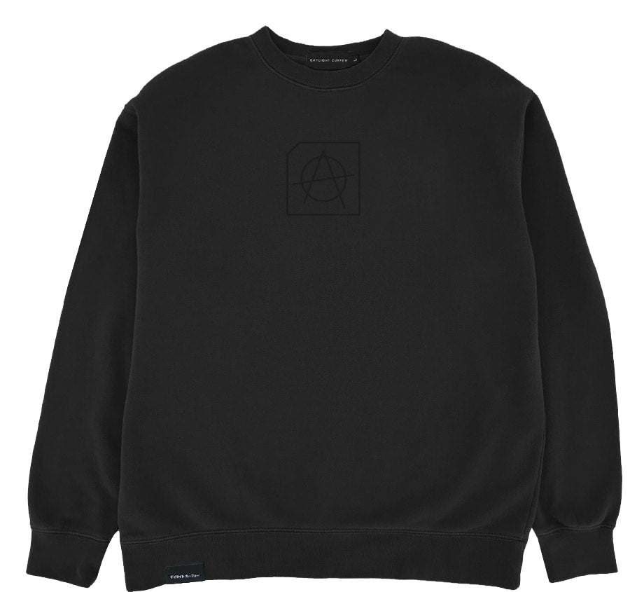 Disorder Embroidered Crewneck