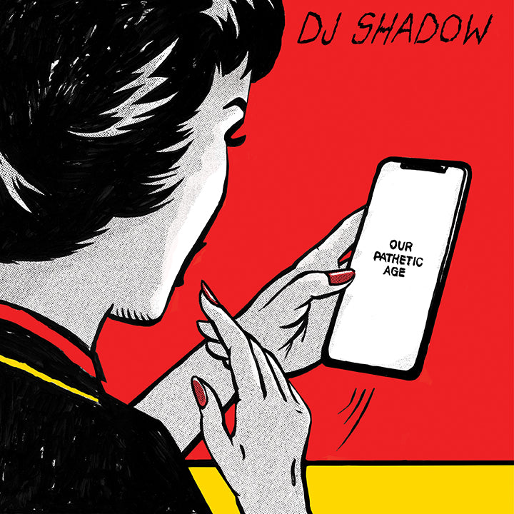 DJ Shadow - Our Pathetic Age -  2xLP (PREORDER)