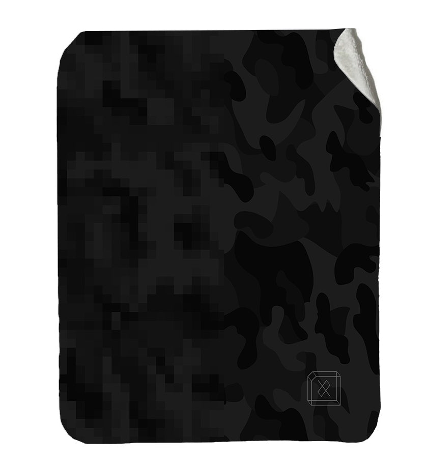 Digi Camo - Sherpa Fleece Blanket