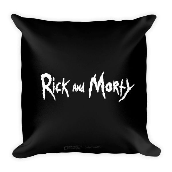 Evil Morty Pillow