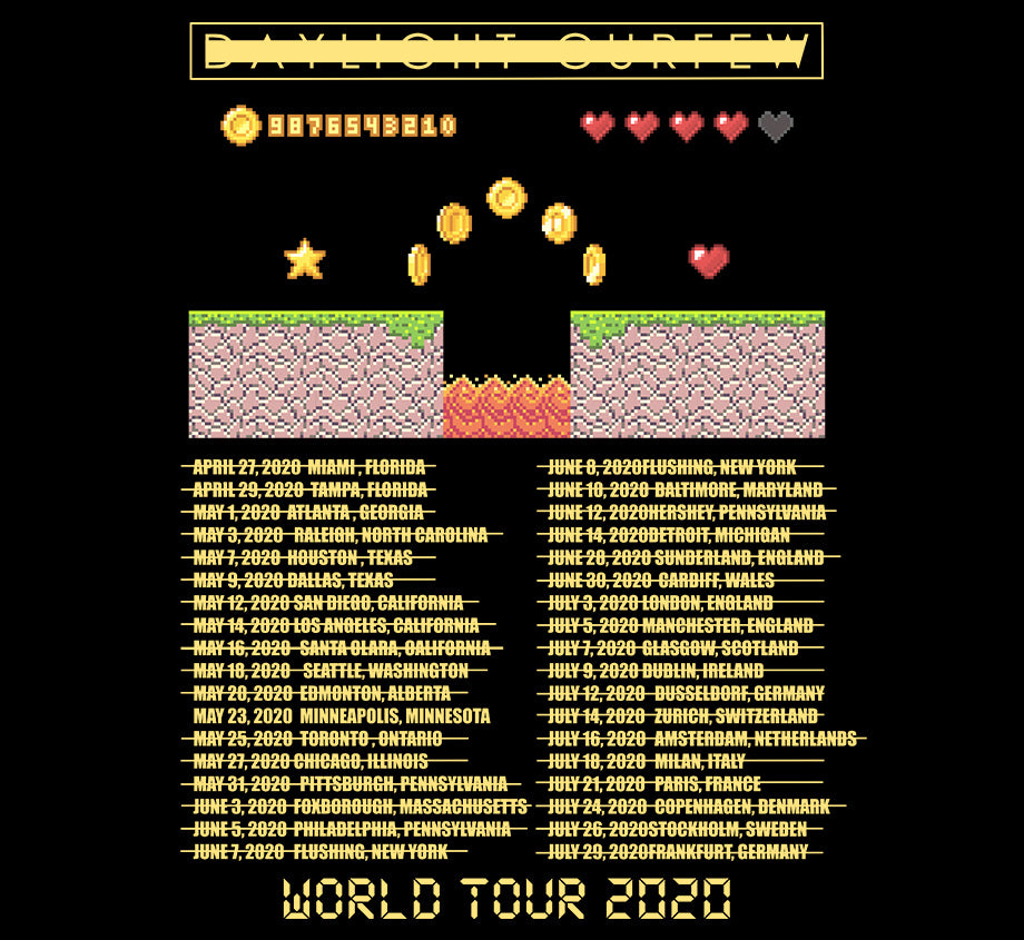 Summer '20: Explosion World Tour T-shirt