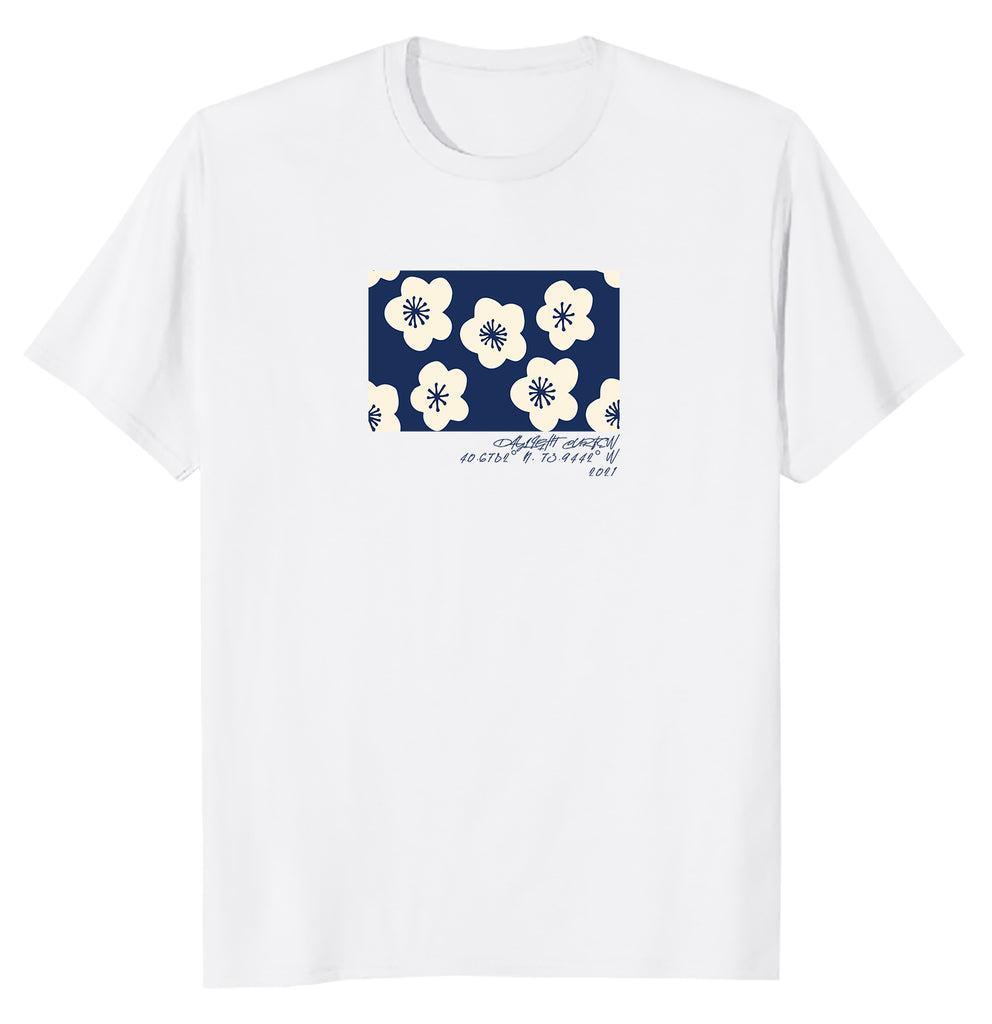 Floral T-Shirt (White)