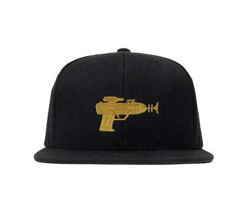 Golden Gun Embroidered Snapback