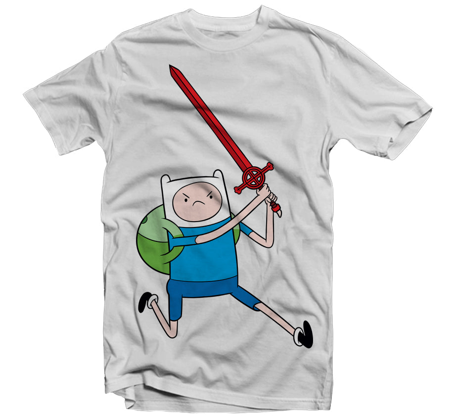 Finn Swords T-shirt (Light Grey)