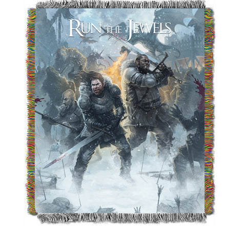 Winter Is Coming - Woven Blanket