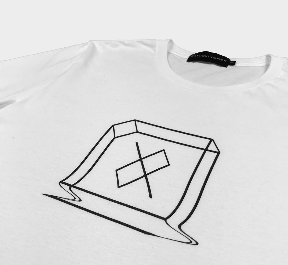 Glitch T-shirt - (White)