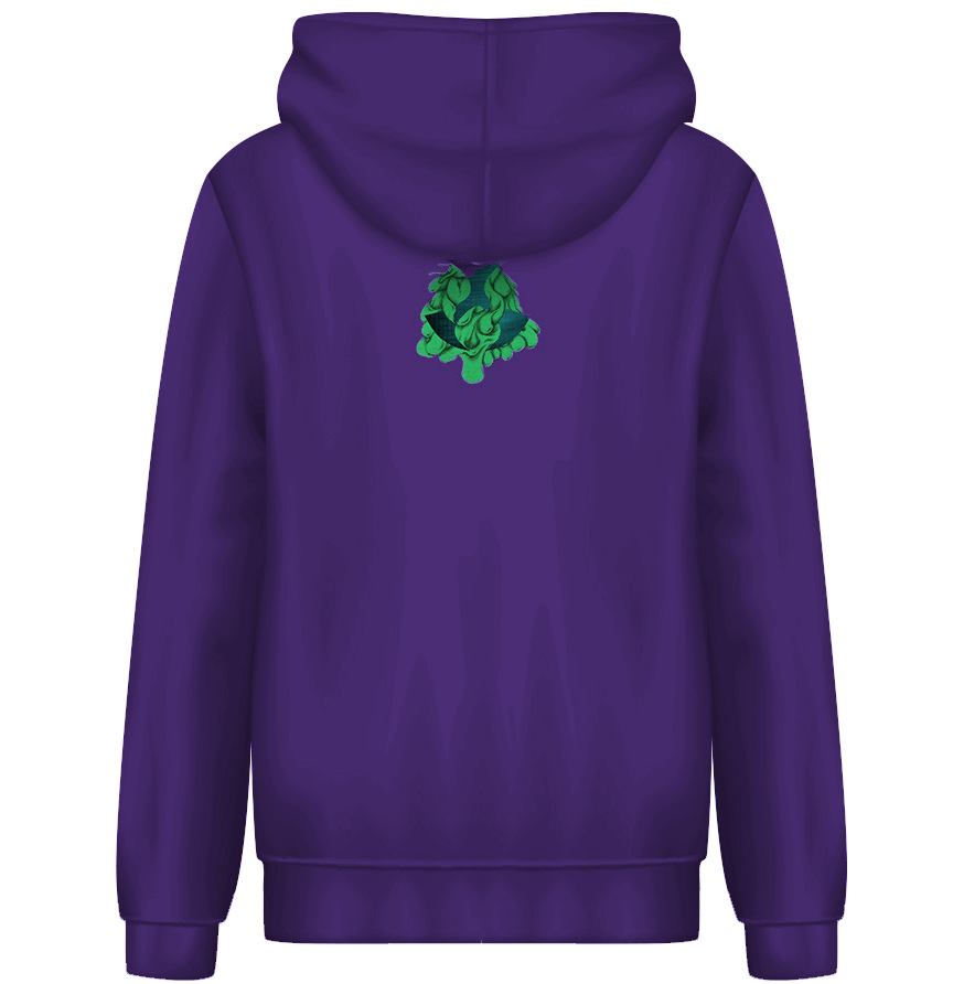 Toonami Fall '20: Slimed TOM Hoodie (Purple)