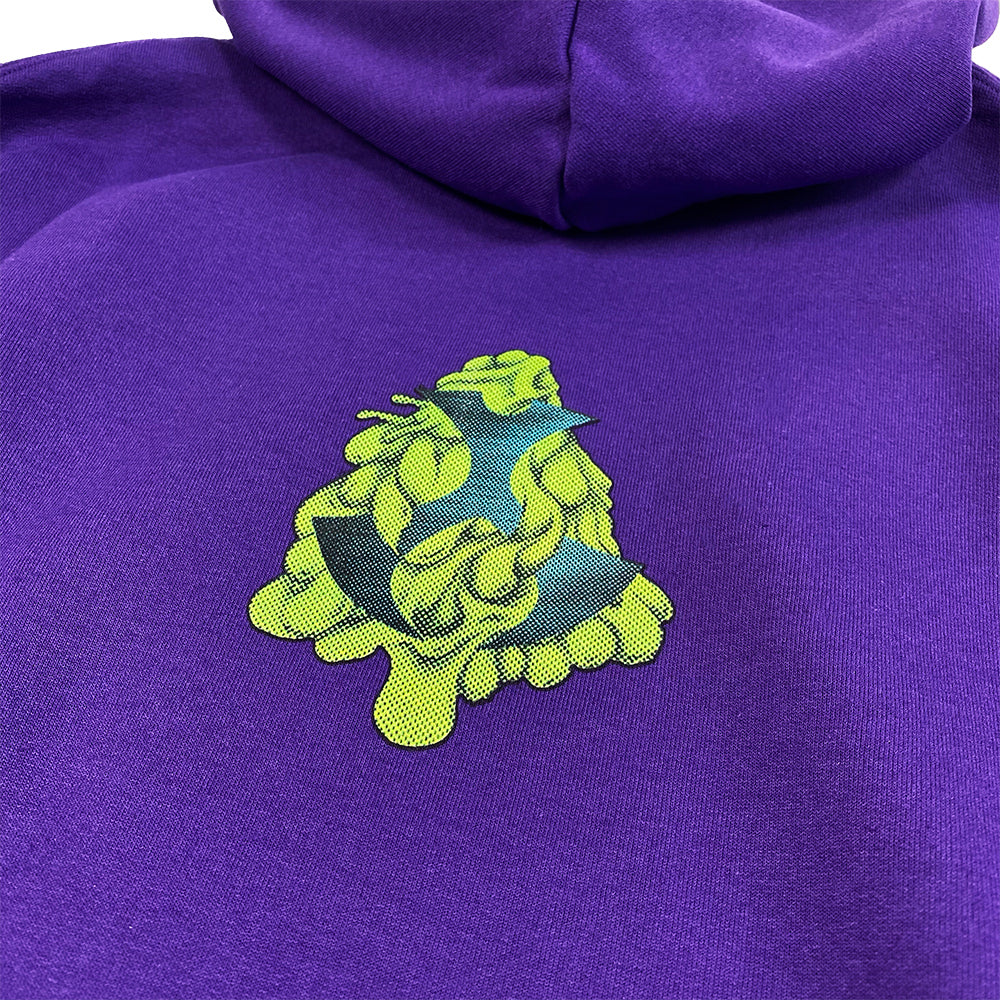 Toonami Fall '20: Slimed TOM Hoodie (Purple) - PREORDER