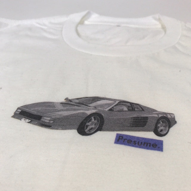 Ferrari T-shirt - White