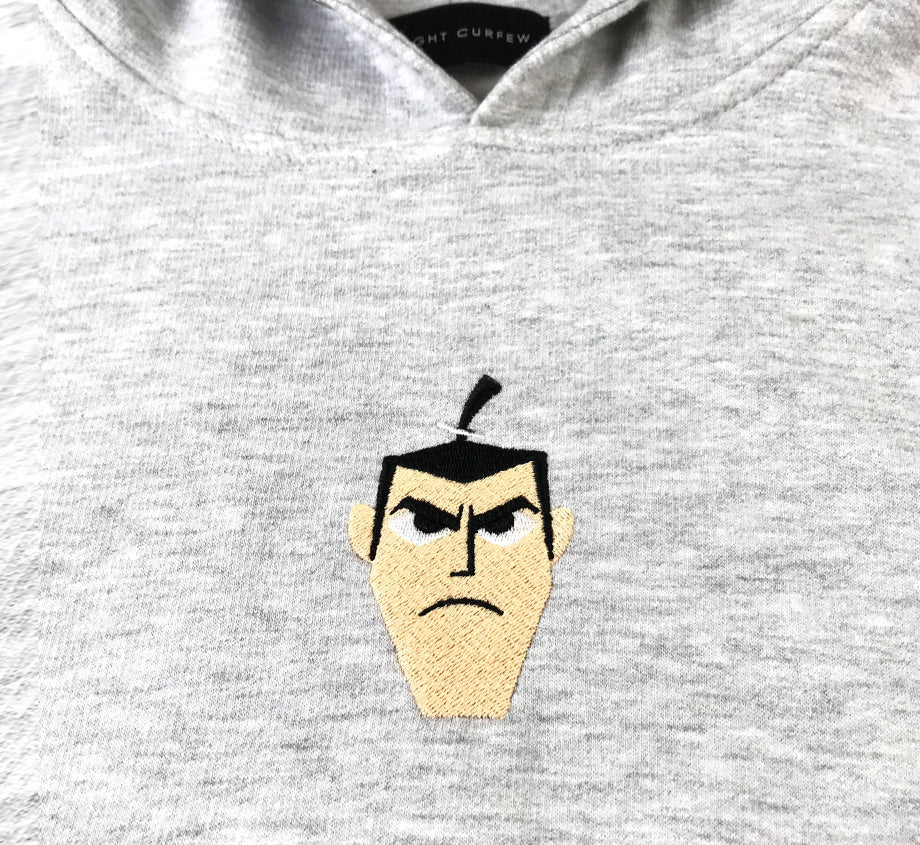 Samurai vs Shogun: Samurai Jack Hoodie (Embroidery Numbered)