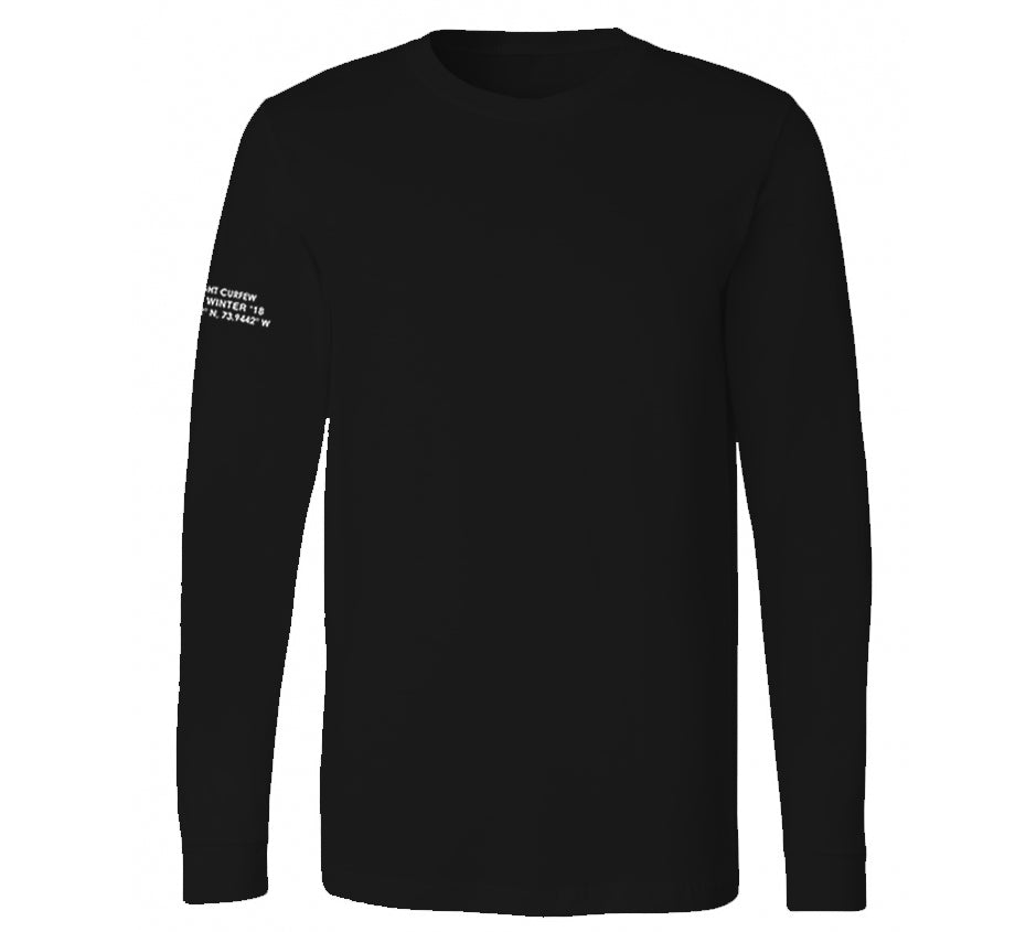 Thanks For Nothing Long-Sleeve T-shirt (Black)