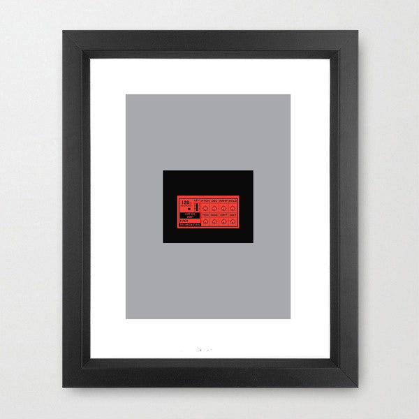 Machinedrum - Fine Art Print