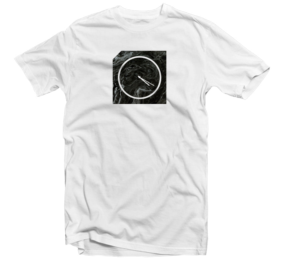 Marble 420 T-shirt (Black Marble)