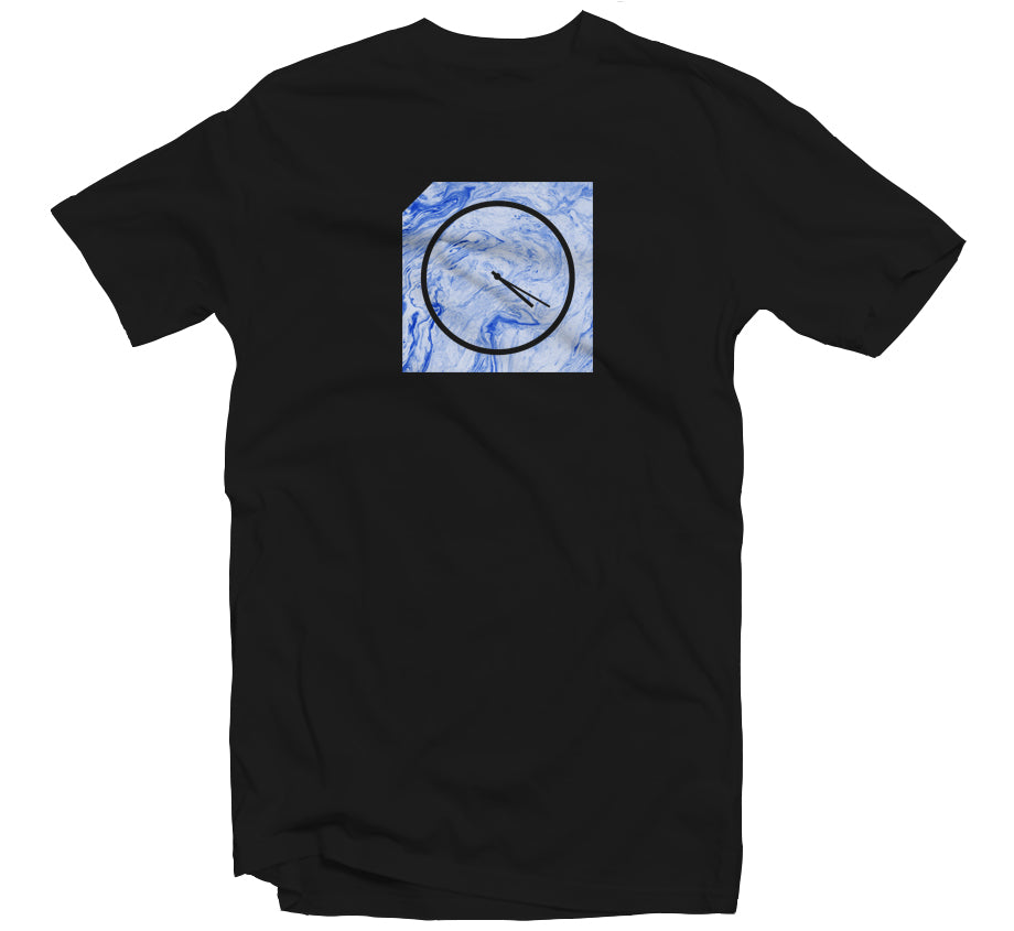 Marble 420 T-shirt (Blue Marble)