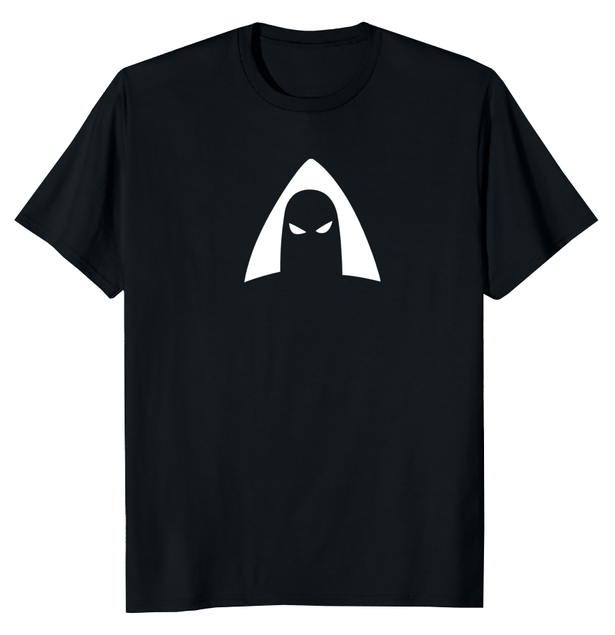 Daylight Curfew x Space Ghost: Icon T-shirt (Black)