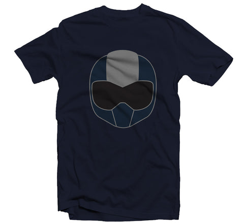 TOM Helmet T-shirt - Navy
