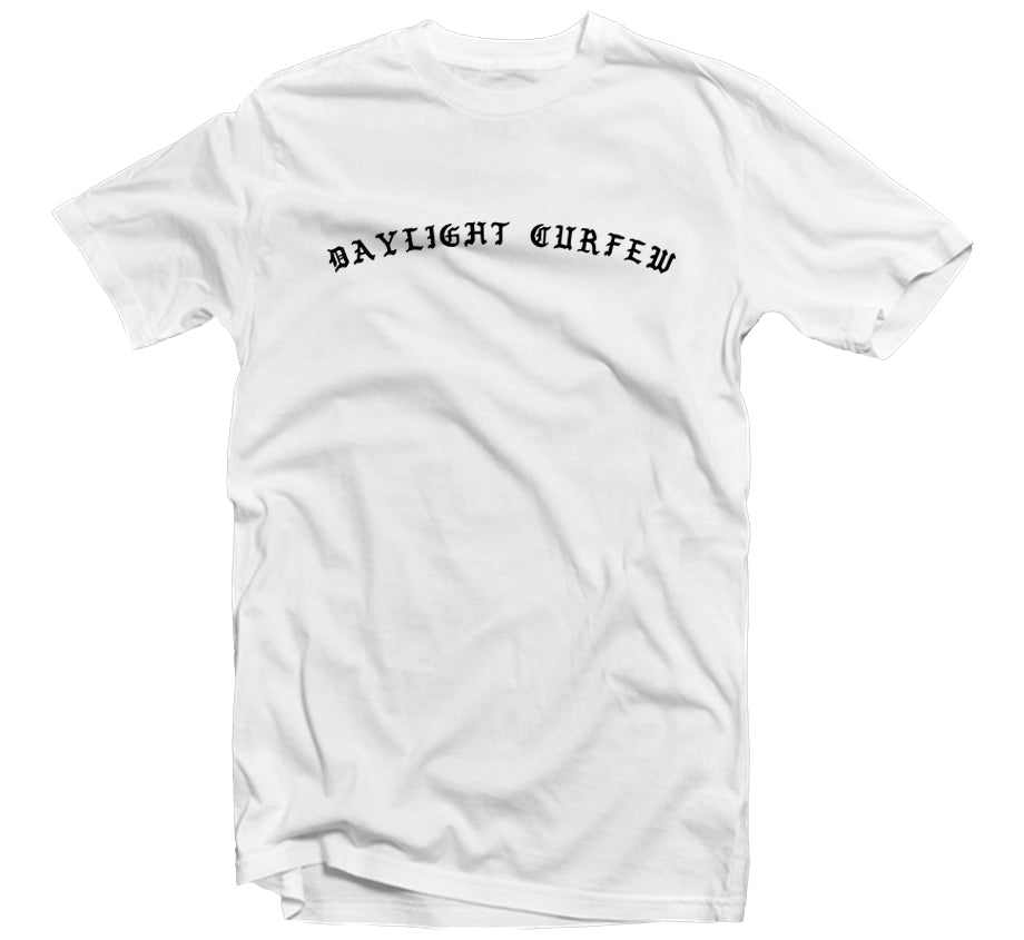 Old English T-shirt (White)