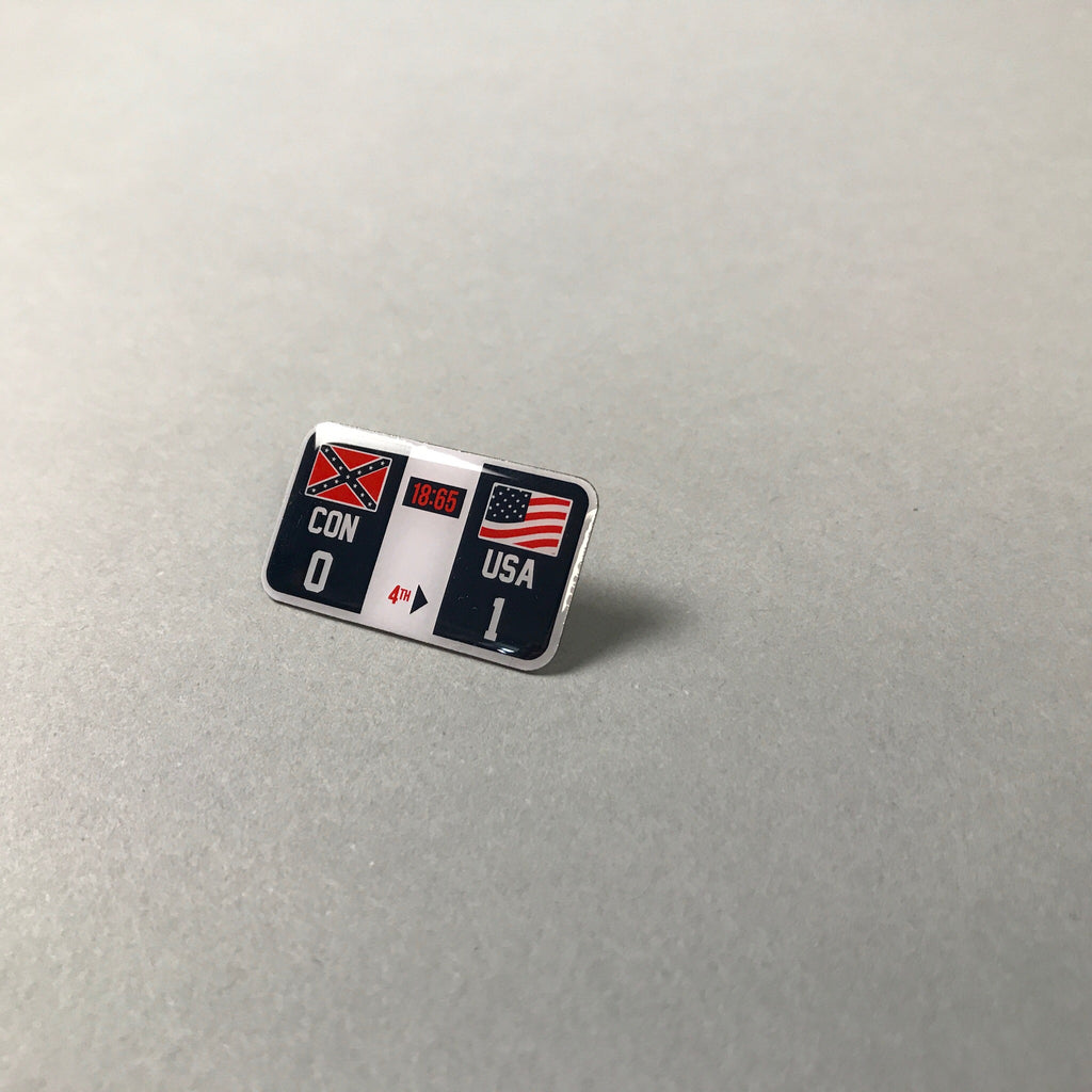 Winners and Losers Lapel Pin