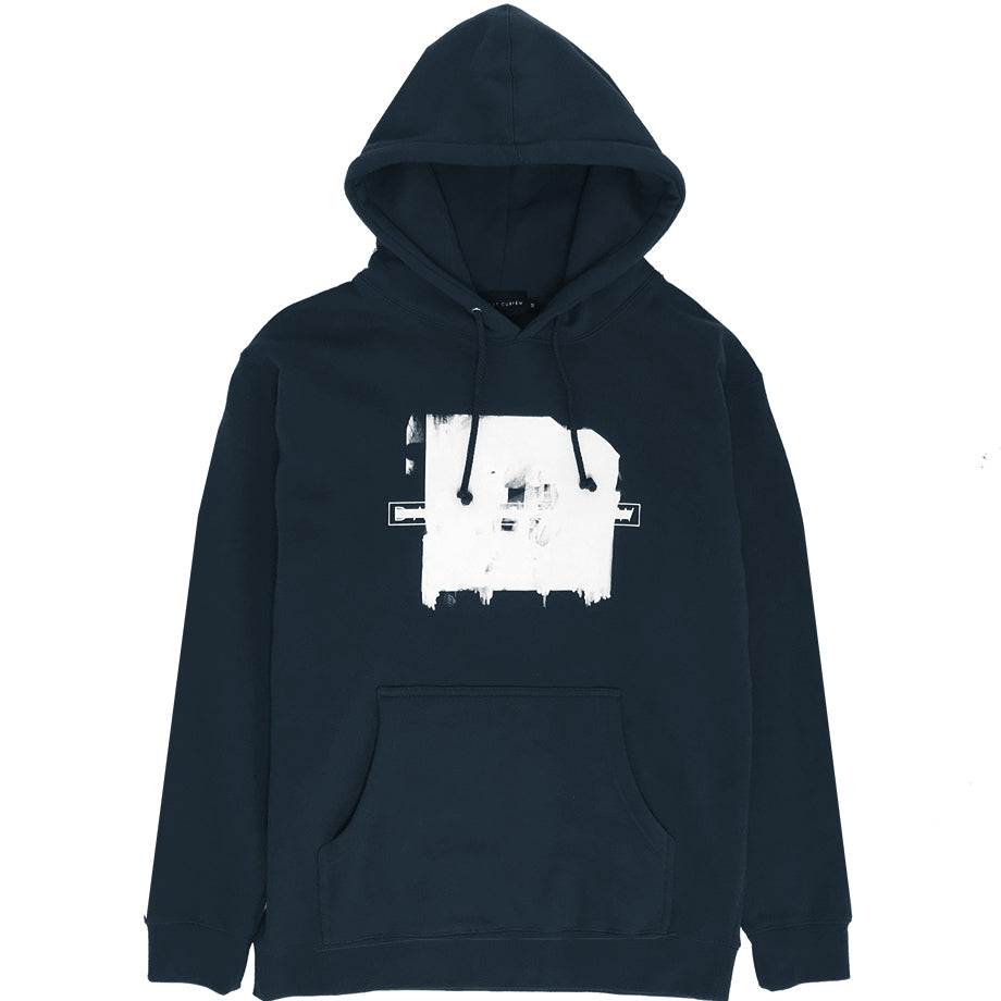 Fall '19: White Washed Hoodie (Slate Blue)
