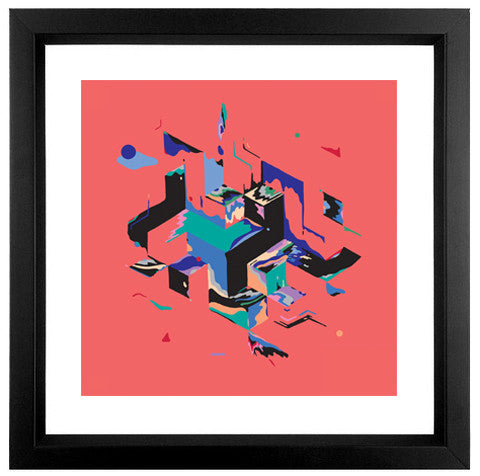 Wait - Fine Art Print - Framed