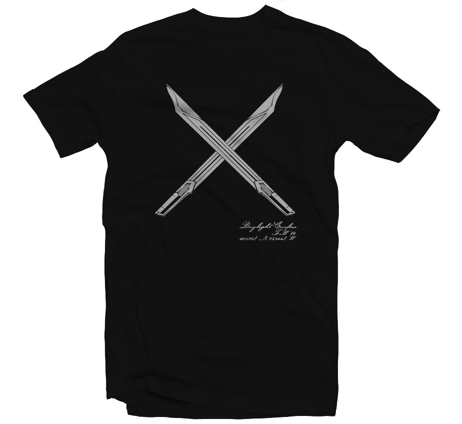 Fall '19: Gundam Swords T-shirt (Black)