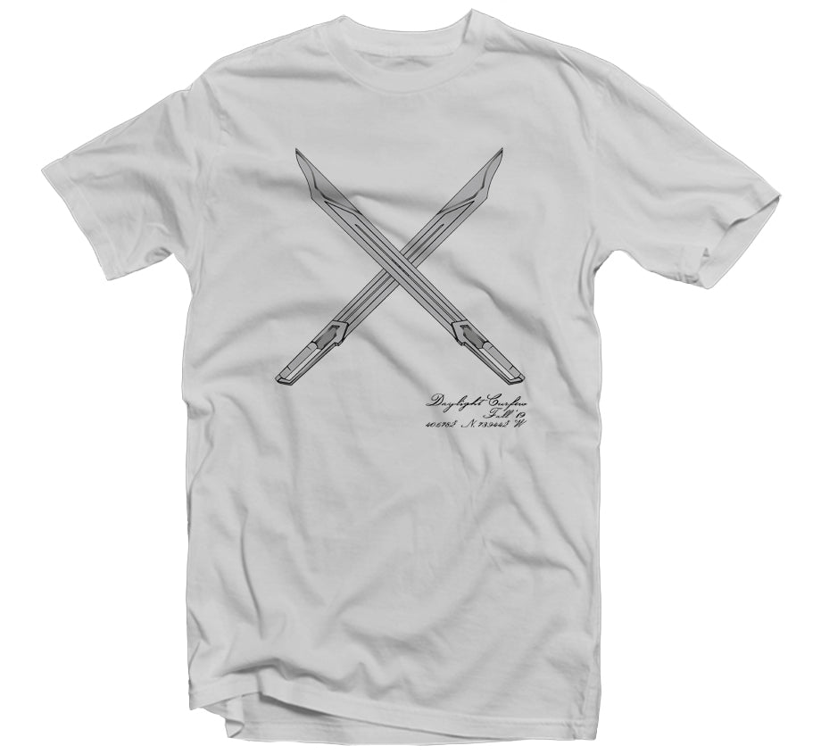 Fall '19: Gundam Swords T-shirt (Lt Grey)