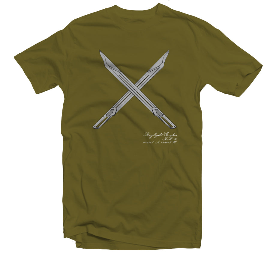 Fall '19: Gundam Swords T-shirt (Olive)