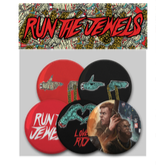 Run The Jewels Button Pack