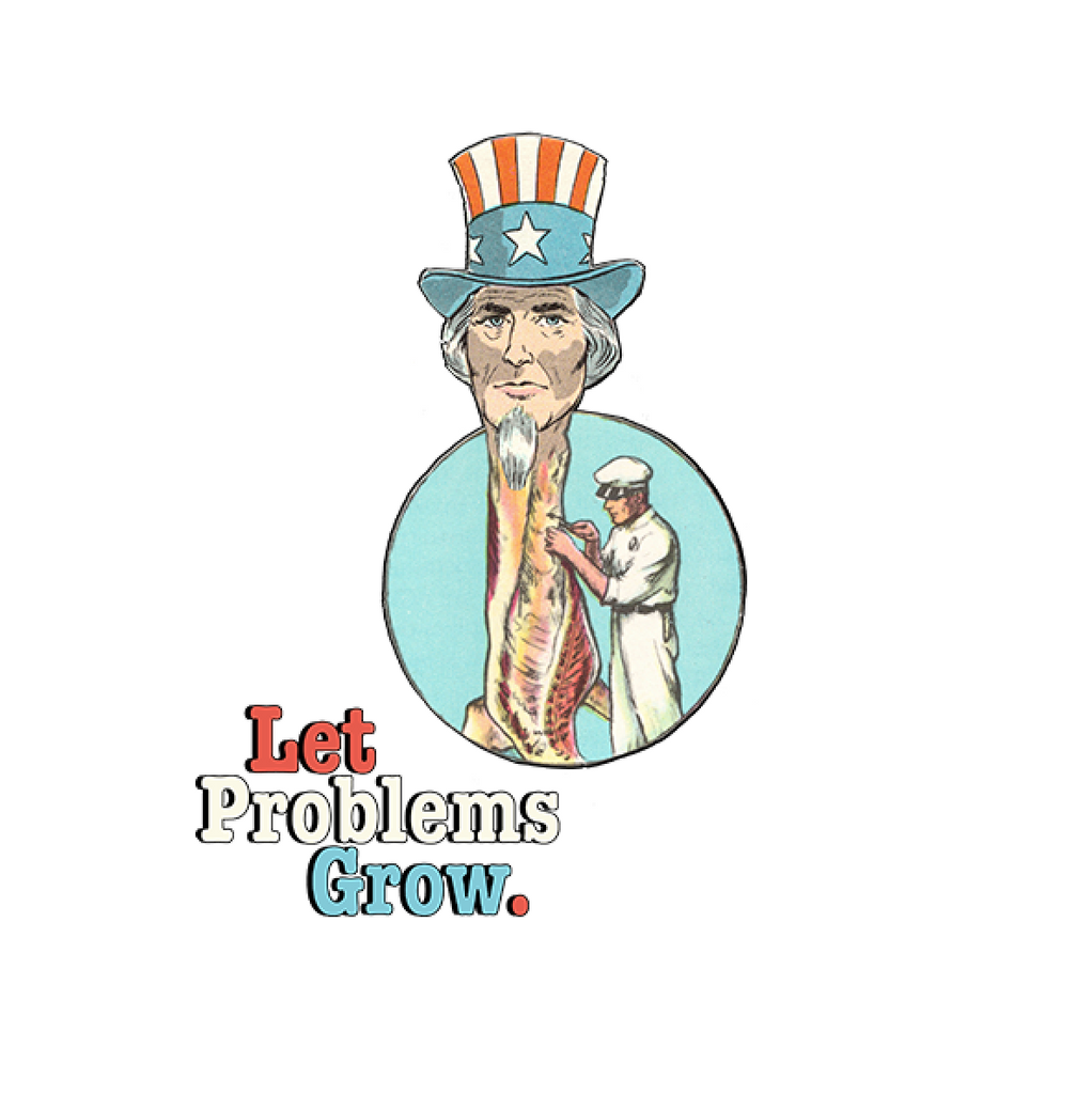 Let Problems Grow T-shirt (White)