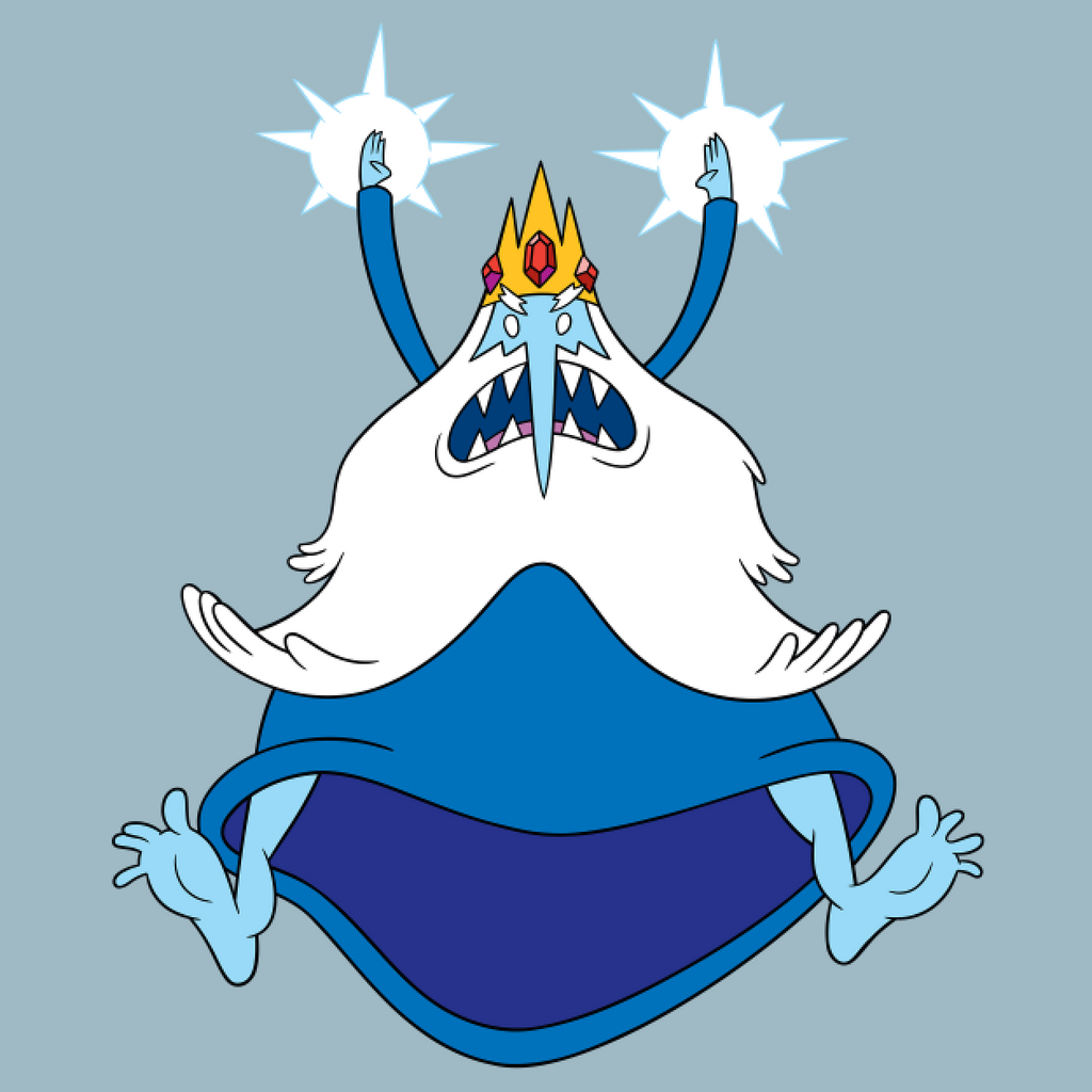 Ice King T-shirt (Light Blue)