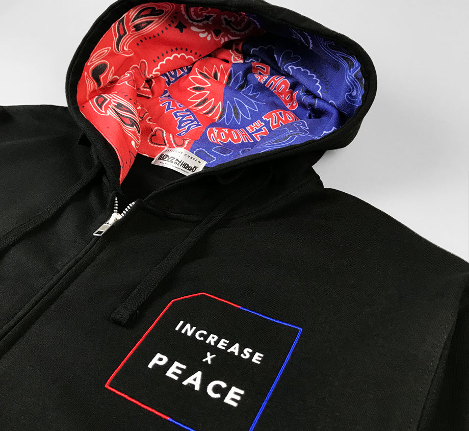 Increase X Peace Hoodie