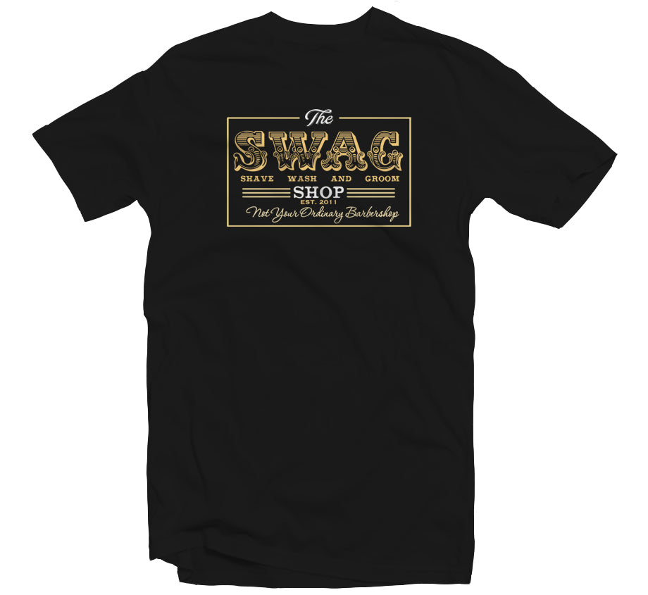 Swag Shop Black T-shirt