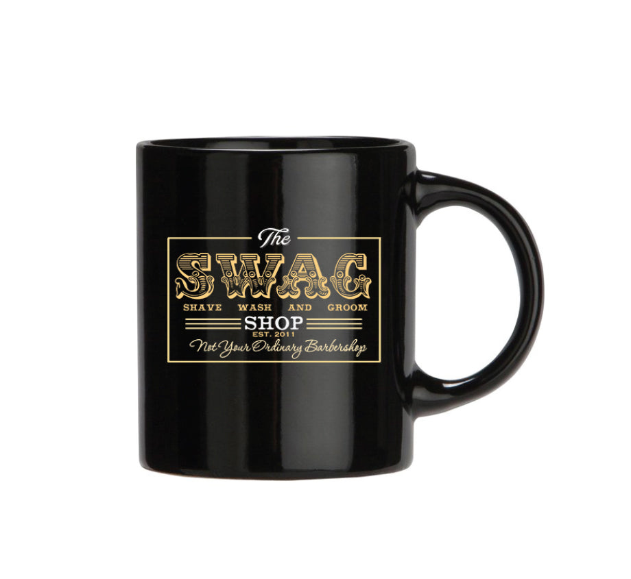 Swag Shop Black Mug