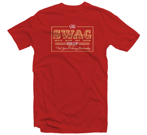 Swag Shop Red T-shirt