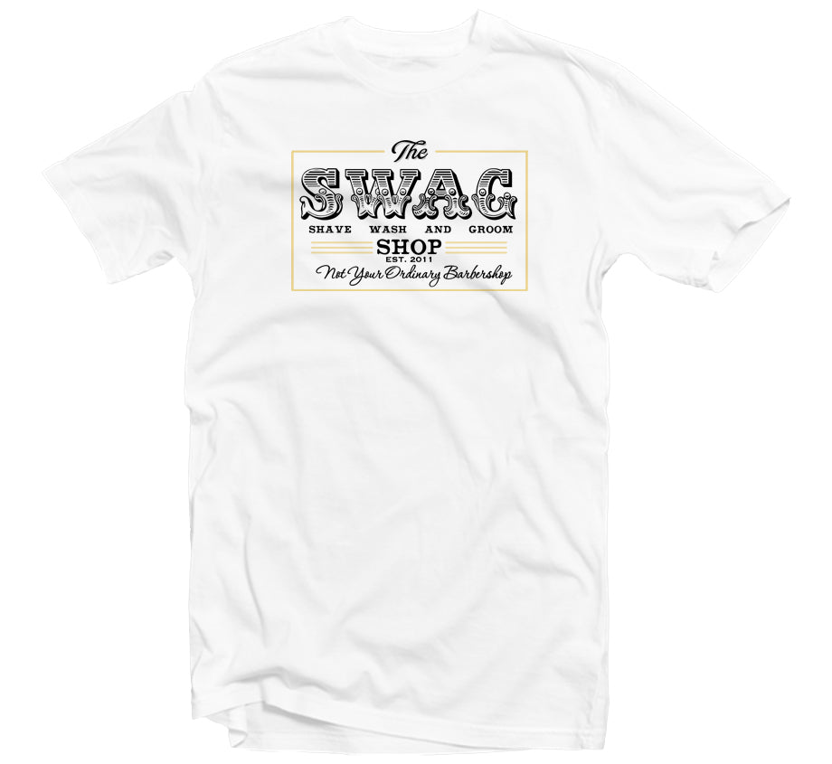 Swag Shop White T-shirt