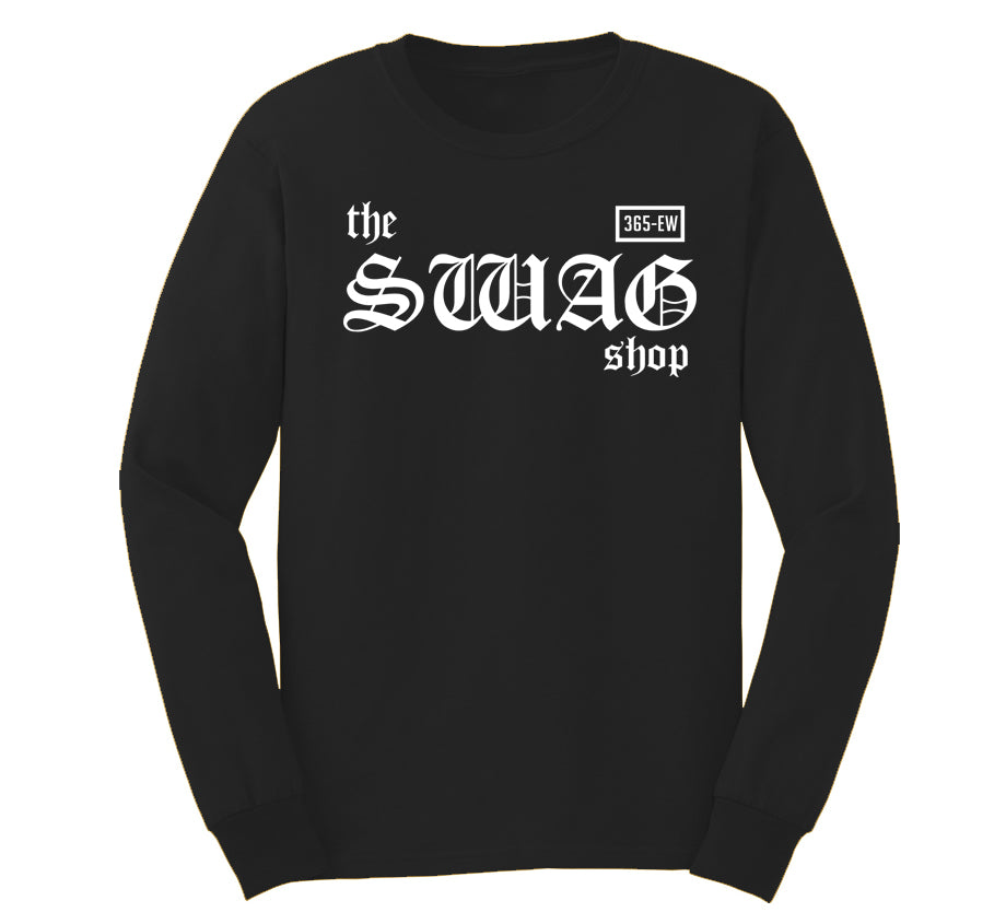 Switch Comb Black Long Sleeve T-shirt