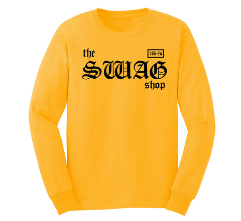 Switch Comb Gold Long Sleeve T-shirt