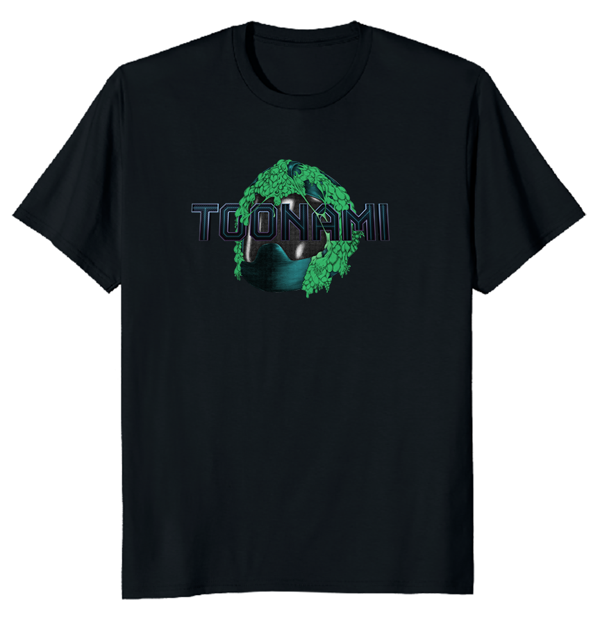 Toonami Fall '20: Slimed TOM T-shirt (Black)